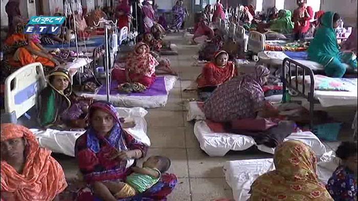 নোয়াখালীতে আশংকাজনক হারে বেড়েছে শিশুরোগ (ভিডিও)
