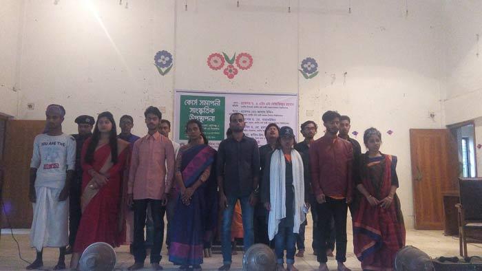 কবি নজরুল বিশ্ববিদ্যালয়ে সাংস্কৃতিক উপস্থাপনা অনুষ্ঠিত