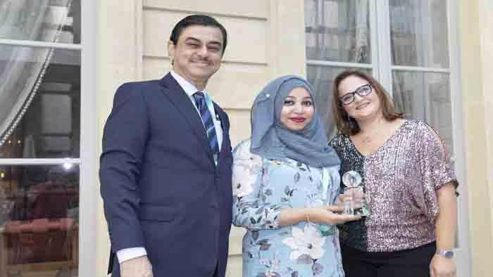 ব্র্যাক ব্যাংকের 'এনগেজমেন্ট-এশিয়া' অ্যাওয়ার্ড অর্জন