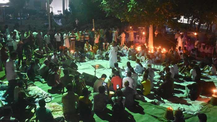 শিল্পকলায় পূর্ণিমা তিথির সাধুসঙ্গ অনুষ্ঠিত
