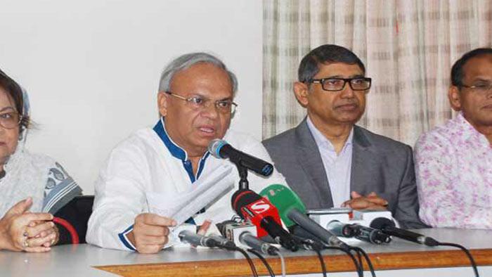 'ডার্টি গেম' বন্ধ করুন : রিজভী